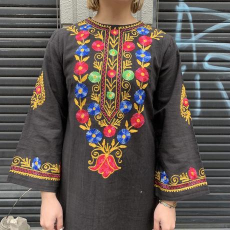 パキスタン 刺繍 ワンピース 9