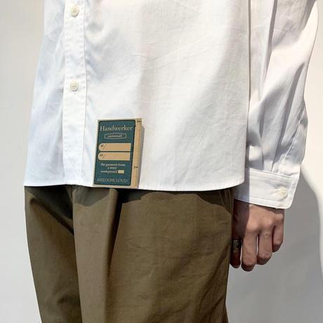 Handwerker  カラーレスシャツ white / L