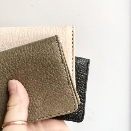 Inswirl  CARD CASE /NATURAL