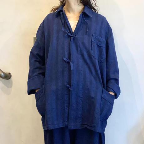 ブルガリア スリーピングシャツ / ネイビー染