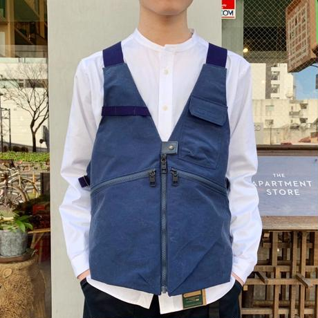 AS2OV   SHRINK NYLON CAMP VEST 3 / キャンプ ベスト 3  /NAVY