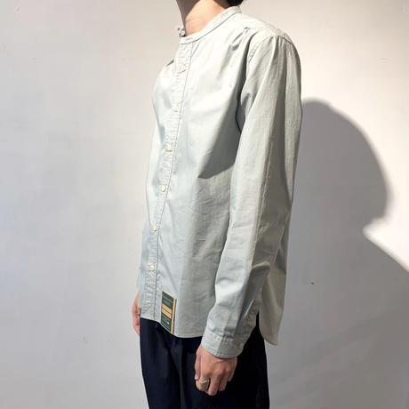 Handwerker  カラーレスシャツ  blue grey /M