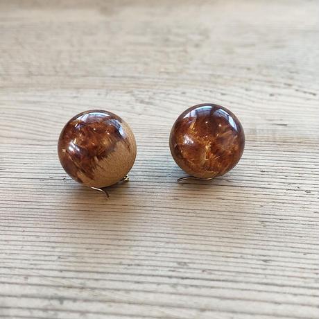 nooca 折木球フックピアス カツラ