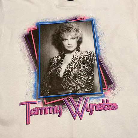 """90's """"Tammy Wynette"""" Tシャツ"""