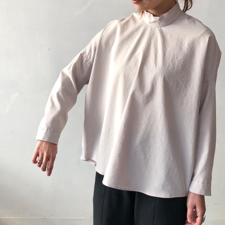 NO CONTROL AIR スタンドカラープルオーバーシャツ / Ecru / 38