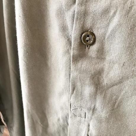 1960's  チェコ グランパシャツ 37 dead stock