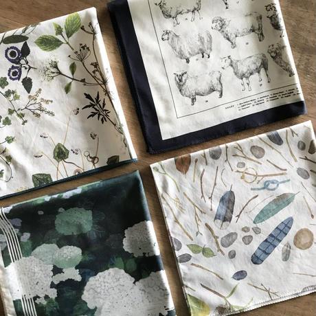 ASEEDONCLÖUD  handkerchief 【Ajisai】