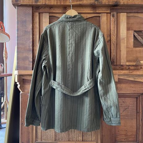 ブルガリア スリーピングシャツ / オリーブ染