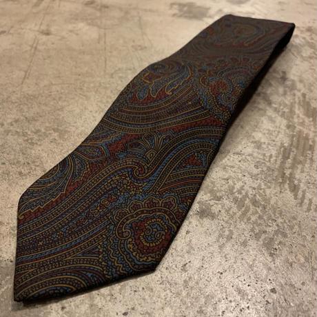 イタリア製 ペイズリー柄 ネクタイ