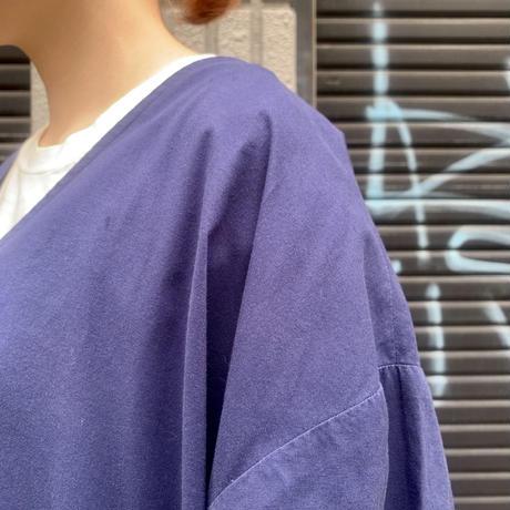 スクラブ半袖シャツ
