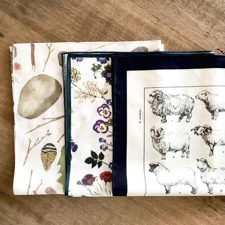 ASEEDONCLÖUD  handkerchief 【Bird's nest】