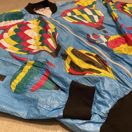 アメリカ製気球柄ペーパージャケット