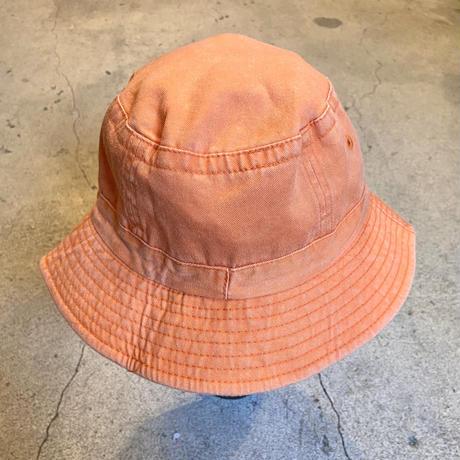 刺繍ハット オレンジ