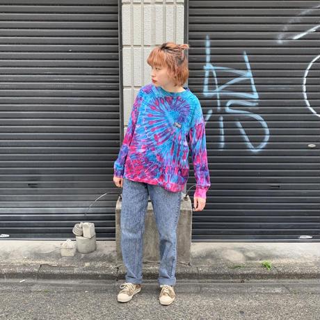 アメリカ製 タイダイ ロングTシャツ