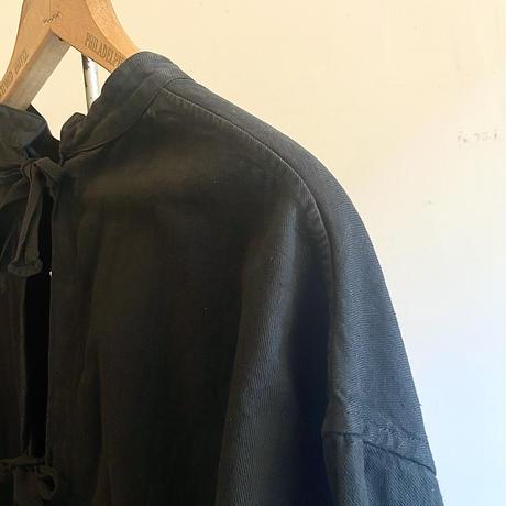 チェコ オペレーションコート 後染めblack ①