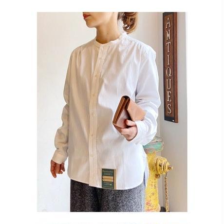 Handwerker  カラーレスシャツ white / S