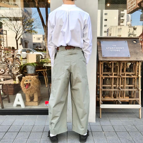 Handwerker  wide trousers light green  / M