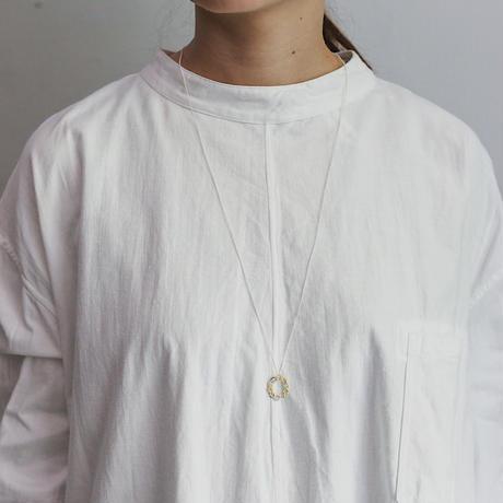Jona  /  tenten O pendant / white