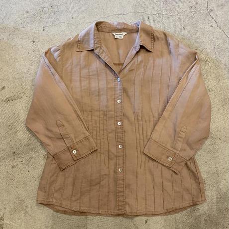 オープンカラー シャツ