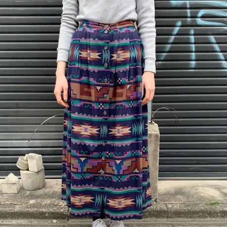 ネイティブ柄 スカート
