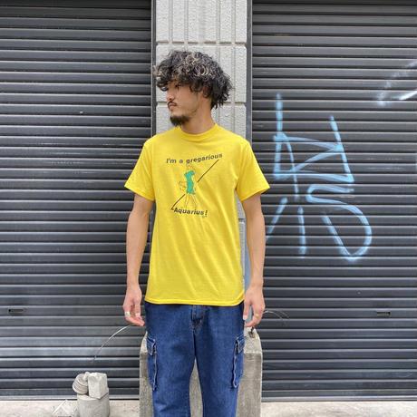 "1970's〜 ""みずがめ座"" Tシャツ"