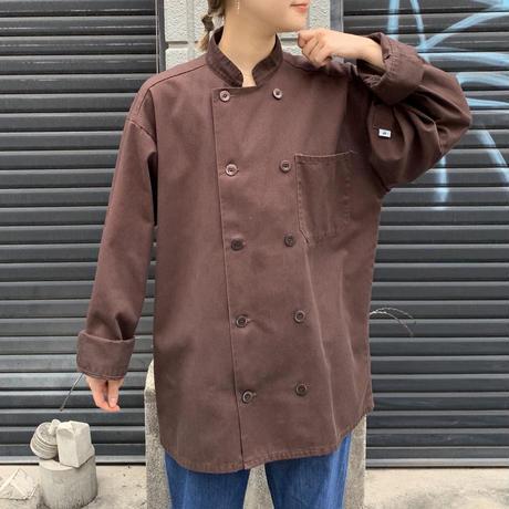 コットン×ポリエステル コックジャケット