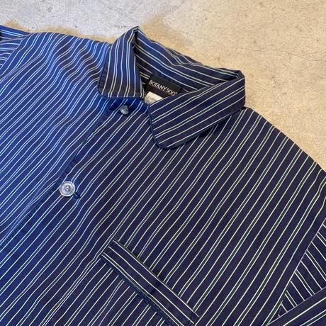 ストライプ パジャマシャツ