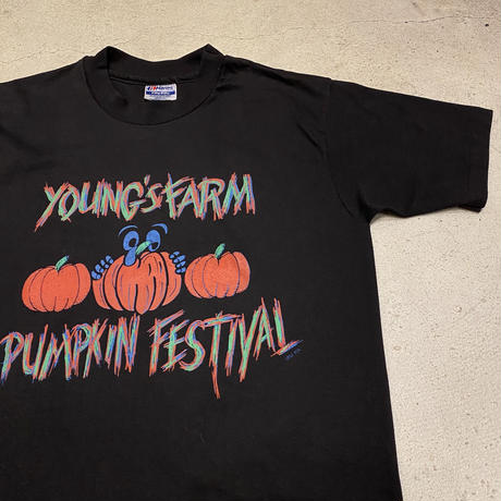"""1980's 〜 """"カボチャ祭り"""" Tシャツ"""