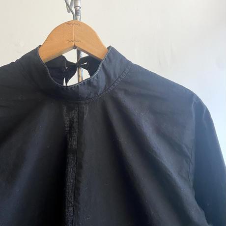 チェコ オペレーションコート 後染めblack  ②