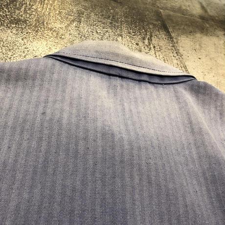 ドイツヘリンボーンワークジャケット