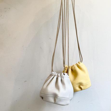 Inswirl KINCHAKU BAG SMALL / YELLOW