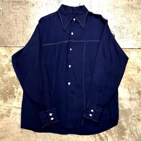 70s ステッチシャツ