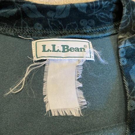 """""""L.L.Bean"""" ベロア ワンピース"""