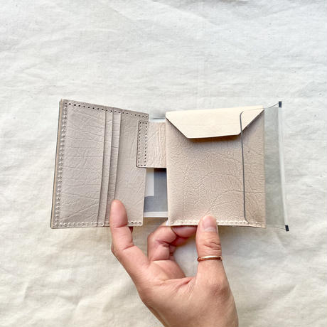 macromauro PVL WALLET  / クリア