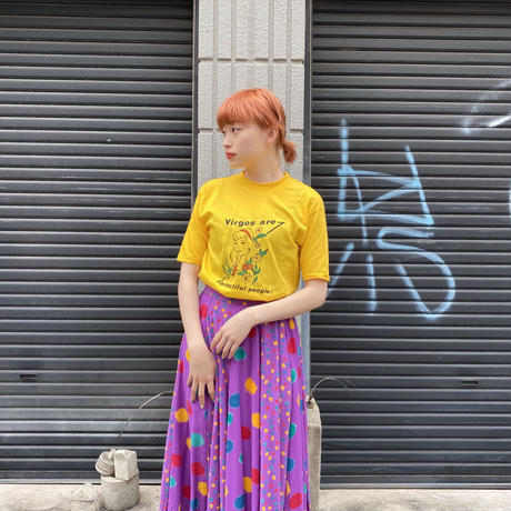 """1970's〜""""おとめ座"""" Tシャツ"""