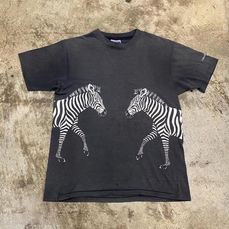 """80s """"シマウマ"""" Tシャツ"""