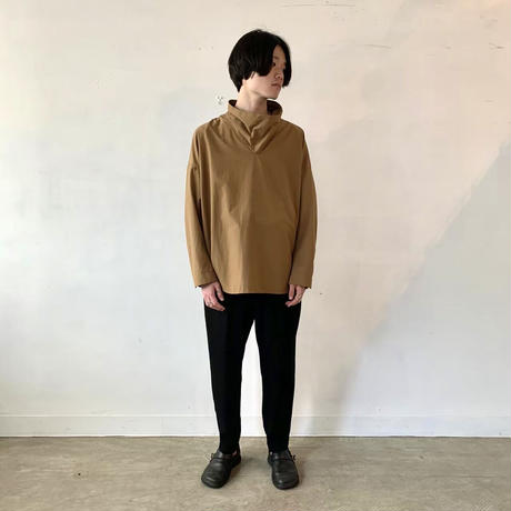 NO CONTROL AIR ビッグタートルプルオーバーシャツ Coyote Brown/M