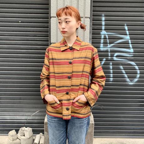 """CHICO's DESIGN "" シルクシャツ"
