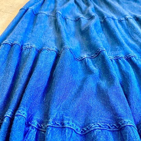 インドレーヨン  ティアードスカート