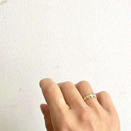 Jona    tenten ring gold/9号