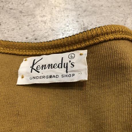 """60's〜 """"Kennedy's"""" Vネックベロアトップス"""