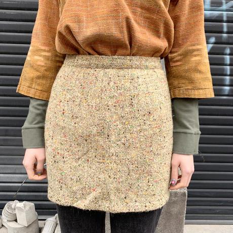 ツイード ミニスカート