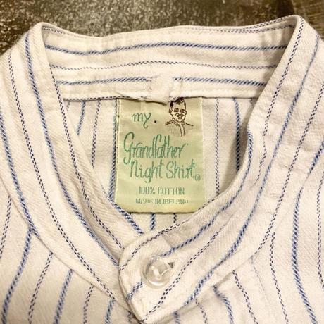 アイルランド製 グランパシャツ