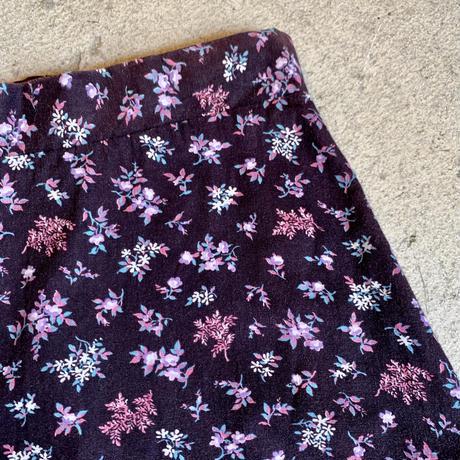 小花柄 チロルスカート