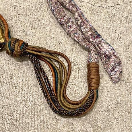 貝殻ロープベルト