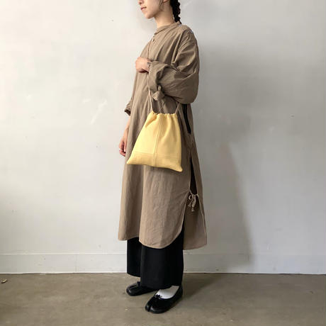 Inswirl  KINCHAKU BAG  【 YELLOW 】