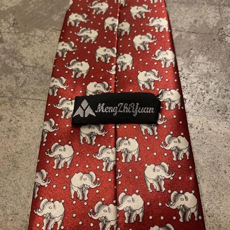 象柄 ネクタイ