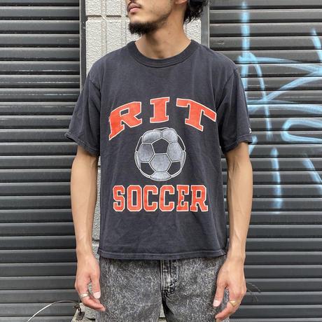 """1990's """"Champion"""" サッカーTシャツ"""
