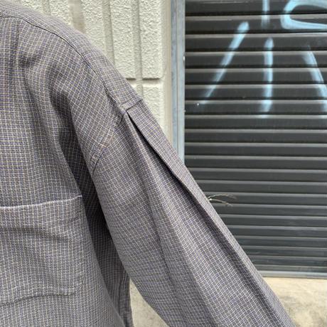 チェック柄 コットンシャツ