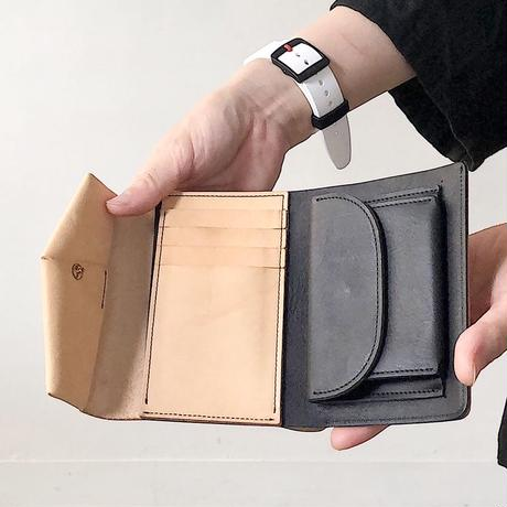 ohta  letter wallet (折り財布)   別注カラー NUME×Black